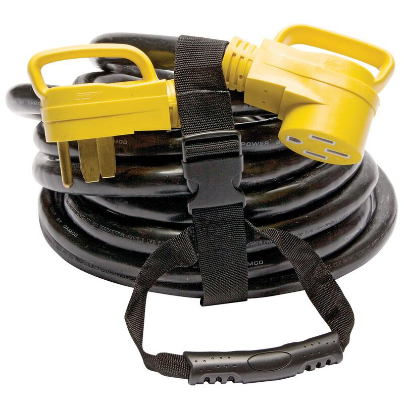 Camco Power Grip Heavy-duty Extension Cord, 30 ft. 50 Amp image number 5