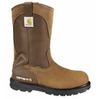 "Carhartt Men's 11"" Waterproof Wellington Safety-Toe Work Boot"