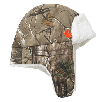 Carhartt Infant and Toddler Sherpa-Lined Camo Bubba Hat