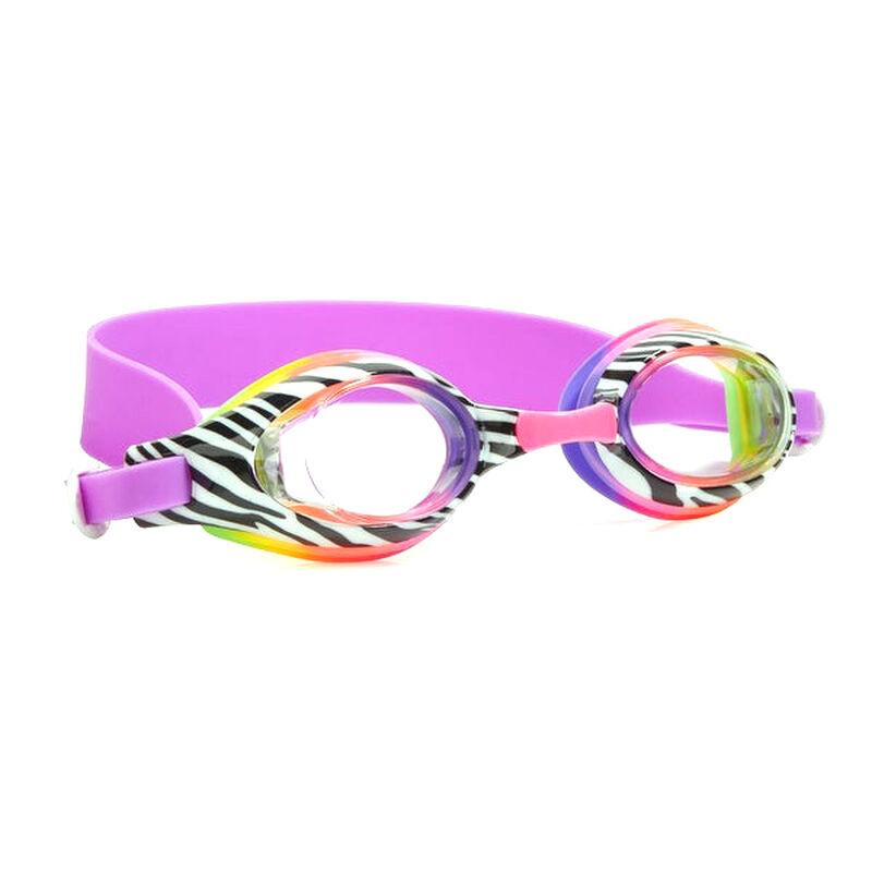 Aqua2ude Swim Goggles, Zebra image number 1