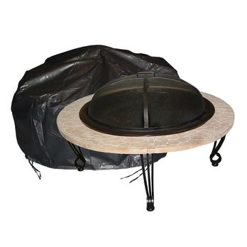 Round Fire Pit Cover