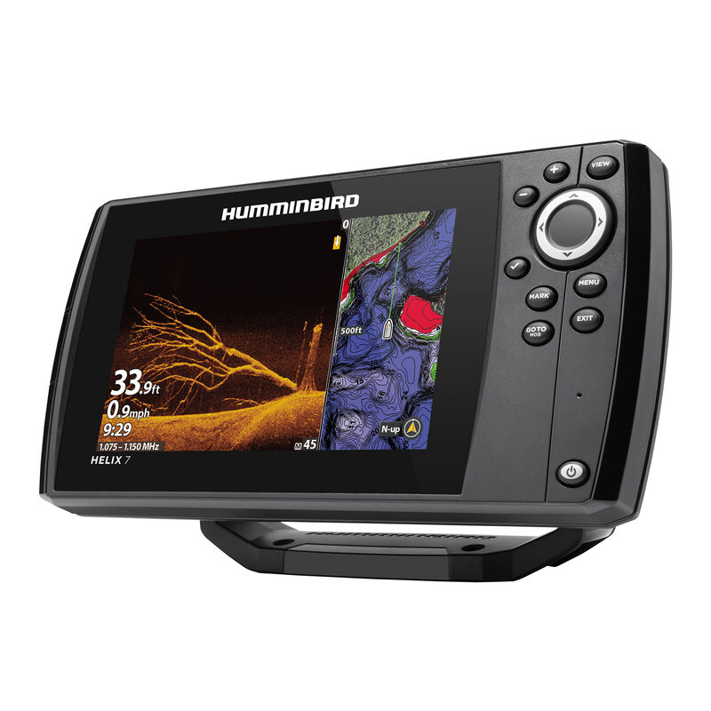 Humminbird Helix 7 CHIRP MEGA DI GPS G3N Fishfinder Chartplotter image number 3