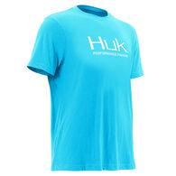 Huk Men's Tri-Blend Short-Sleeve Logo Tee