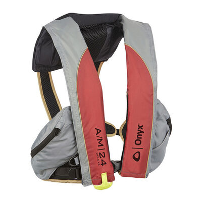 Onyx A/M-24 Deluxe - Automatic/Manual Inflatable Life Jacket (PFD)
