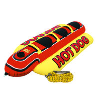 Airhead Hot Dog 3-Person Towable Package With Rope