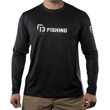 13 Fishing Man-Tooth Performance Long Sleeve Tee