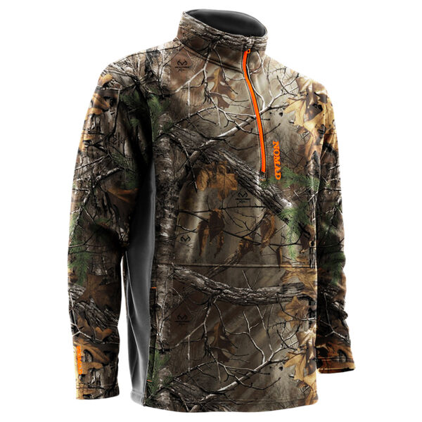 Nomad Men's Southbounder Camo Quarter-Zip Fleece Pullover