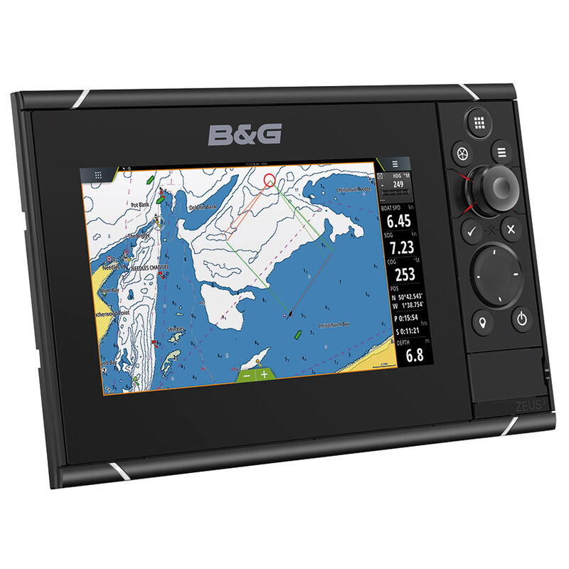"""B&G Zeus 3 7"""" Multifunction Display With Insight Charts image number 1"""