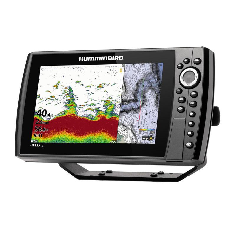 Humminbird Helix 9 CHIRP MEGA DI+ GPS G3N Fishfinder Chartplotter image number 3