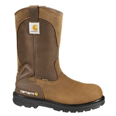 Carhartt Core 11-Inch Men's Bison Brown Waterproof Wellington Boot