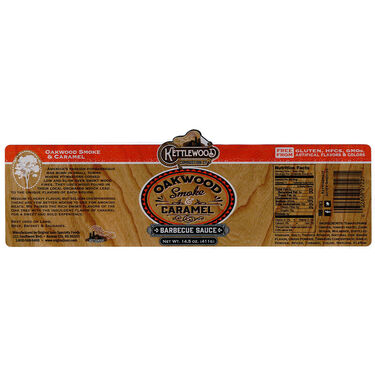 Original Juan Kettlewood Oakwood Smoke and Caramel BBQ Sauce 14.5oz