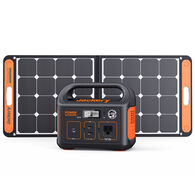 Jackery Explorer 290 Outdoor Portable Power Station and SolarSaga 90-Watt Solar Panel