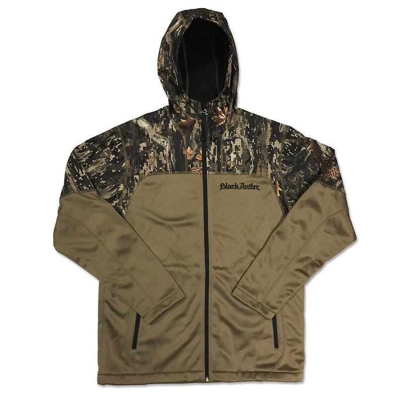 Black Antler Men's Renegade Softshell Jacket, Desert Sand/Camo image number 1