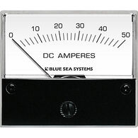 Blue Sea DC Analog Ammeter + Shunt, 0-50A