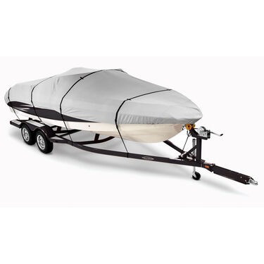 "Covermate Imperial Pro V-Hull Outboard Boat Cover, 18'5"" max. length"