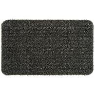 """GrassWorx Clean Machine Flair Doormat, 18"""" x 30"""", Flint"""