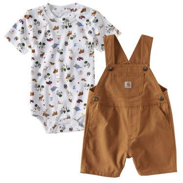 Carhartt Infant Boys' Wilderness Shortall Set