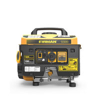 FIRMAN 1300/1050 Watt Recoil Start Gas Portable Generator