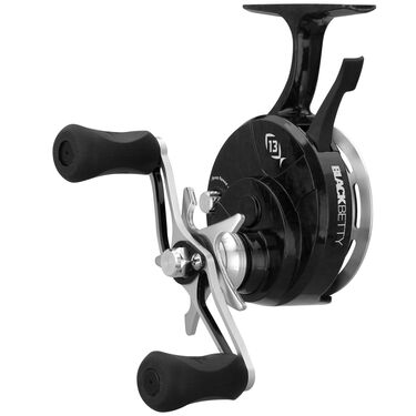 13 Fishing Black Betty FreeFall Inline Ice Reel