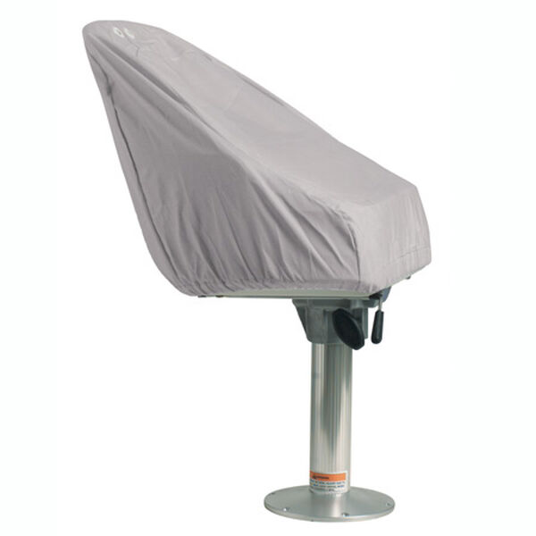 Overton's Pedestal Seat Cover - Gray Imperial