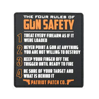 Patriot 4 Rules of Gun Safety Patch