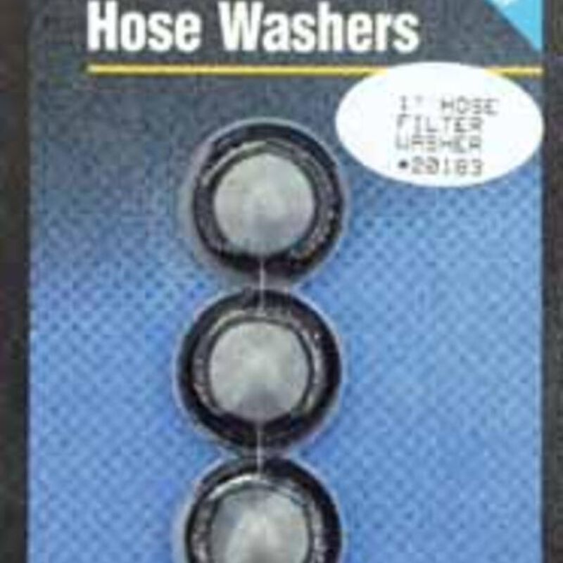 Hose Filter Washers, Pack of three image number 1