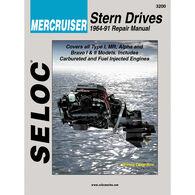 Seloc Marine Stern Drive & Inboard Repair Manual for Mercruiser '64 - '91