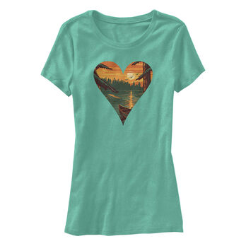 Points North Women's Heart Short-Sleeve Tee