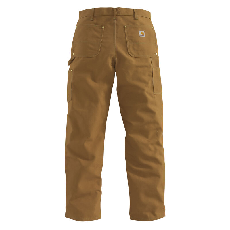 Carhartt Men's Firm Duck Double-Front Work Dungaree Pant image number 7