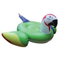 Margaritaville Parrot Head Pool Float With LED Lights