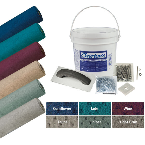 Overton's Blockade Carpet Kit, 8.5'W x 16'L
