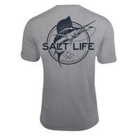 Salt Life Men's Marlin Life SLX UVapor Pocket Short-Sleeve Tee