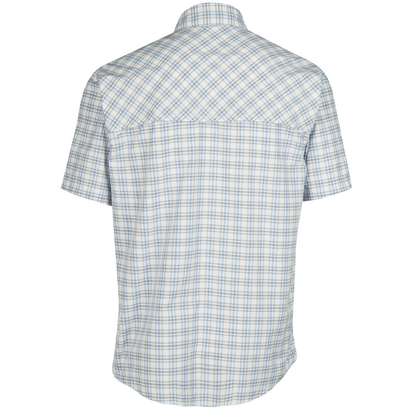 Nepallo Men's Trophy Quick-Dry Plaid Short-Sleeve Shirt image number 14