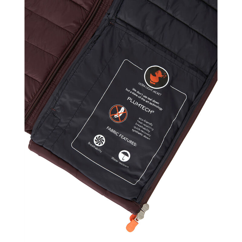 Save The Duck Men's Giga Mid Quilted Winter Coat image number 4