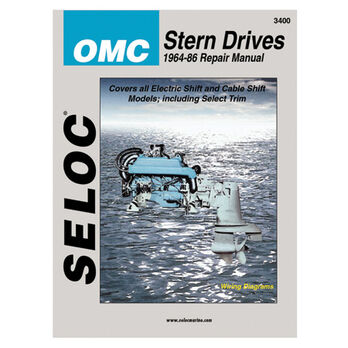 Seloc Marine Stern Drive & Inboard Repair Manual for OMC '64 - '86