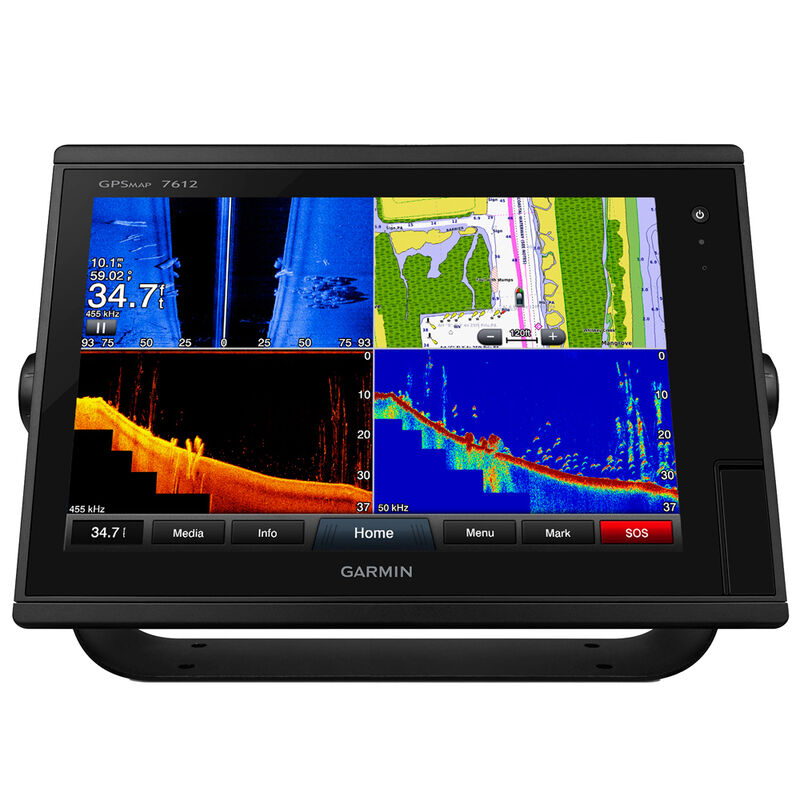 """Garmin GPSMAP 7612 12"""" Touchscreen Chartplotter With J1939 Port image number 1"""