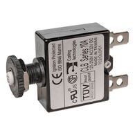 Blue Sea Push-Button Reset-Only Quick-Connect Thermal DC Circuit Breaker, 7A
