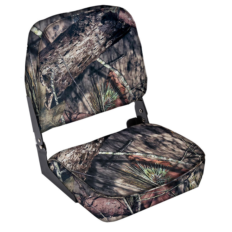 Wise Low-Back Camo Fishing Chair image number 1