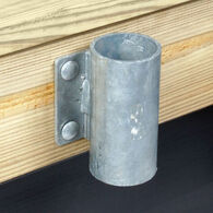 "Commercial-Grade 1/4"" Floating Dock Hardware - Outside 3"" Pipe Holder"
