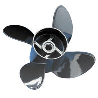 Comprop 4-Blade Propeller, Solid Hub / Composite, 10 dia x 13 pitch, Right Hand