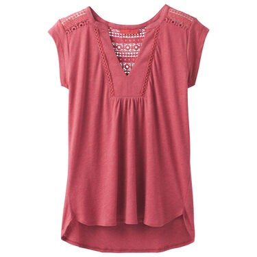 PrAna Women's Yvonna Short-Sleeve Tee