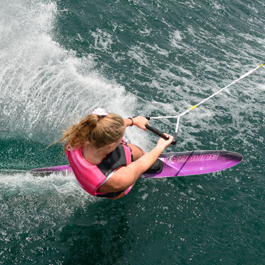 HO Women's Burner Slalom Waterski With Double Free-Max Bindings