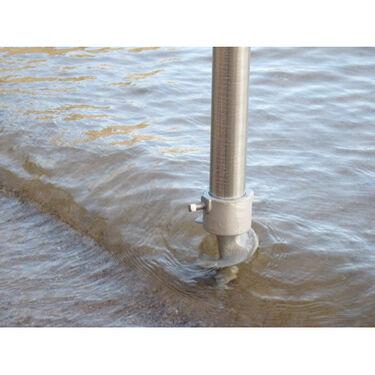Stationary Dock Hardware - Leg Pipe Sand Auger