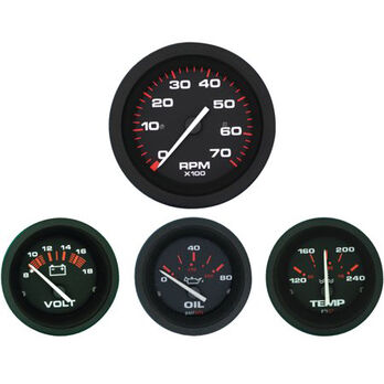 Sierra Amega 2nd Engine Inboard Gauge Set, Sierra Part #69722P