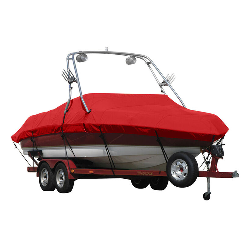 Exact Fit Sunbrella Boat Cover For Cobalt 200 Bowrider With Tower Covers Extended Platform image number 17