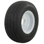 Tredit H188 4.80 x 8 Bias Trailer Tire, 5-Lug Standard White Rim