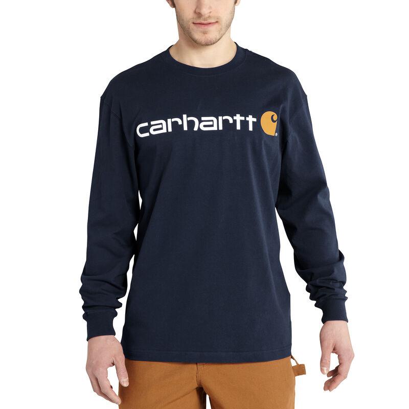 Carhartt Men's Long-Sleeve Logo Tee image number 5