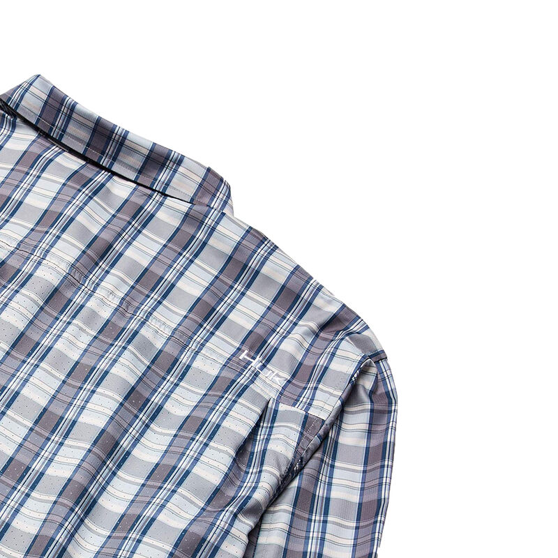 Huk Men's Tide Point Woven Plaid Long Sleeve image number 5