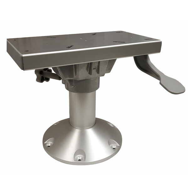 """Seat Pedestal 9"""" Fixed Height with Swivel and Slide"""