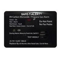 Safe T Alert 25 Series Mini Dual CO/Propane Alarm, Black